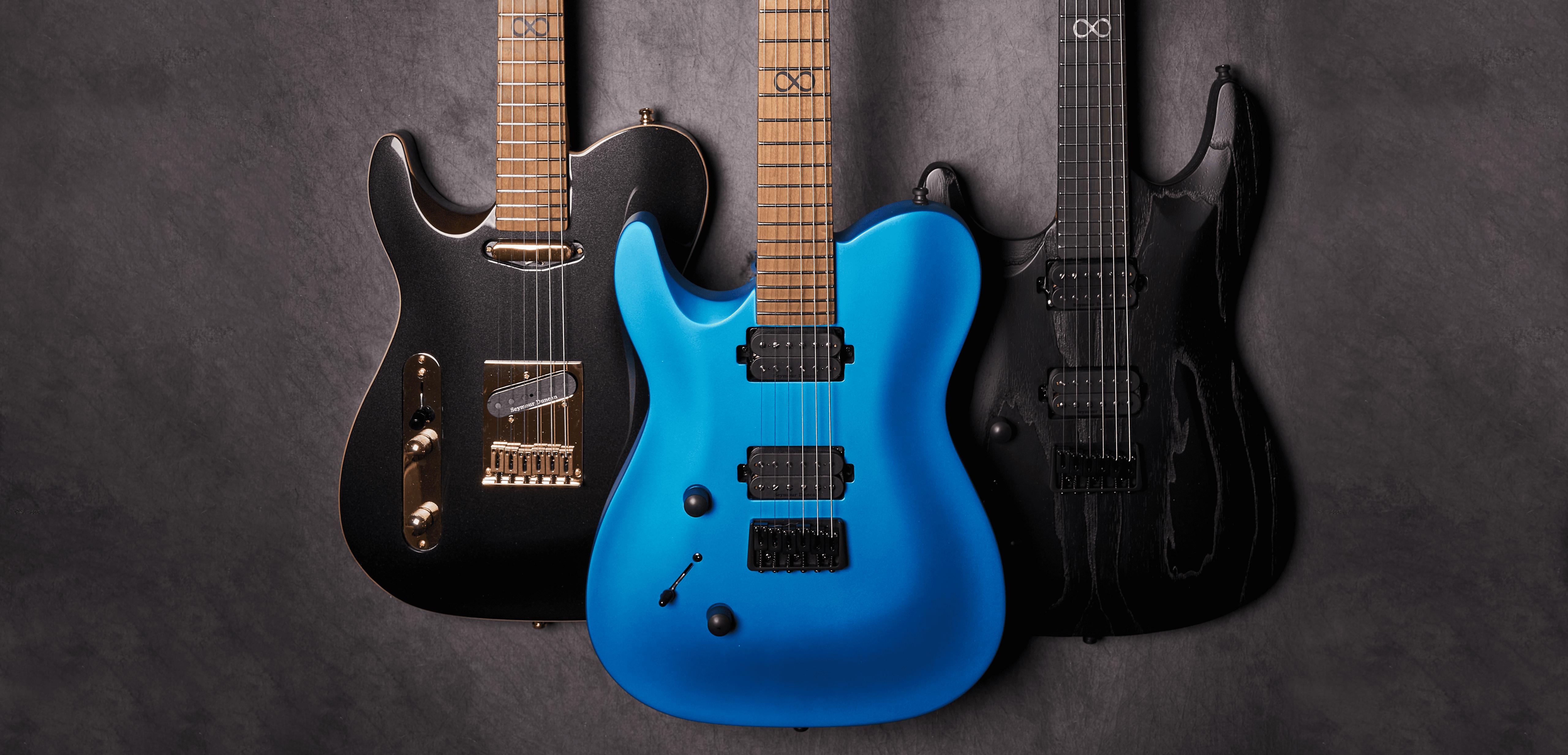 chapman guitars product range